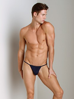 Cover Male String Bikini Navy