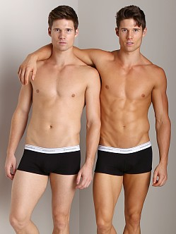 DSQUARED Jersey Cotton Stretch Trunk Black