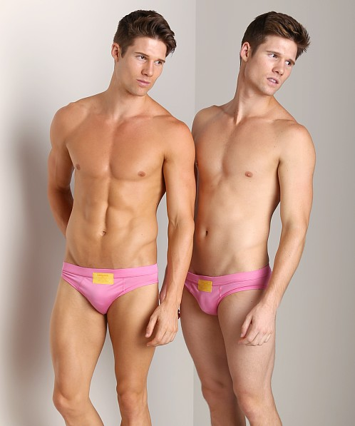 DSQUARED Filoscozia Brief Pink