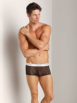 DSQUARED Mesh Trunk Black