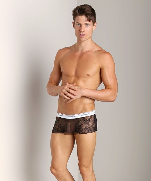 DSQUARED Lace Trunk Black
