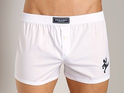 DSQUARED Jazz Print Boxer White