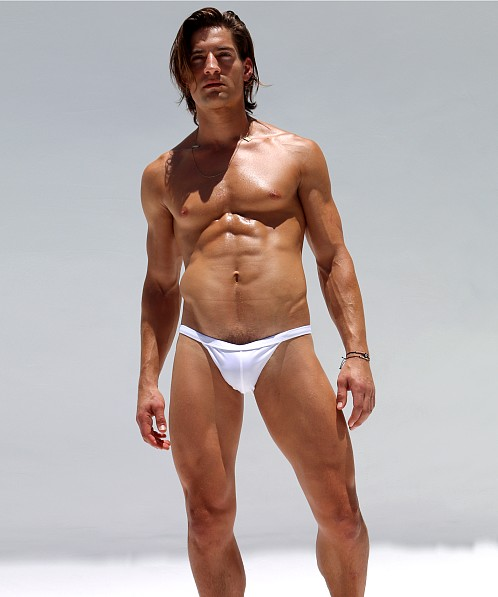 Rufskin Farol Euro Style Swim Brief White