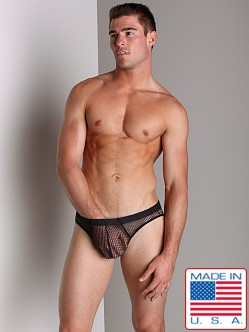 Go Softwear Euro Mesh Low Rise Brief Black