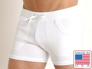 Go Softwear Hard Core Blanc Rib Short White