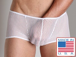 Go Softwear Euro Mesh Square Cut White
