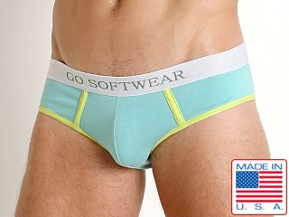 Go Softwear South Beach Low Rise Brief Seafoam