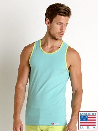 Go Softwear South Beach Classic Tank Top Seafoam