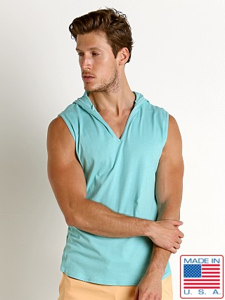 Go Softwear South Beach Sleeveless Hoody Seafoam