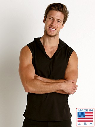 Go Softwear South Beach Sleeveless Hoody Black