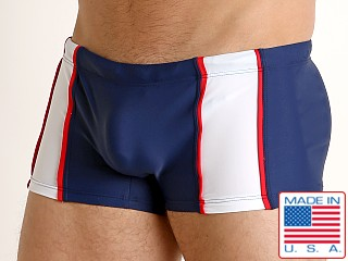 Go Softwear Ixtapa Swim Trunk Navy/White