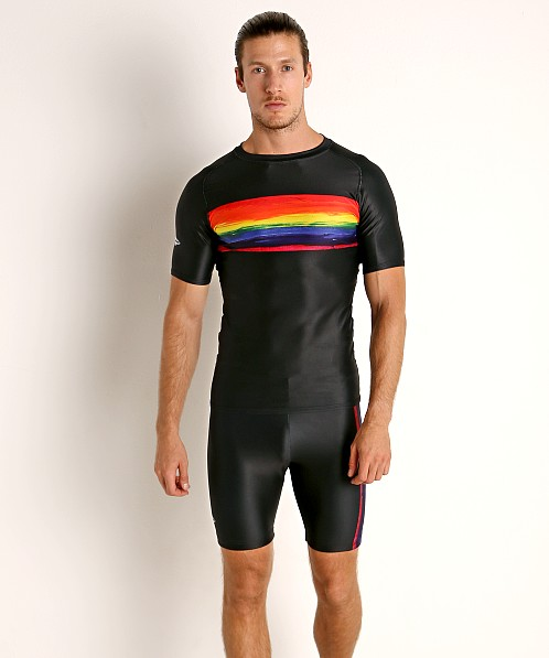 Matman Rainbow Pride Compression Shirt