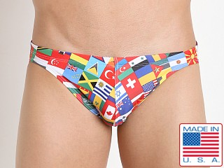 LASC St. Tropez Men's Bikini Flags