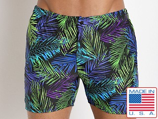 LASC Swim Shorts Neon Palms