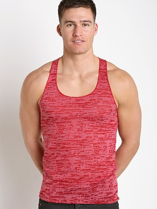 Complete the look: LASC Burn Out String Tank Red