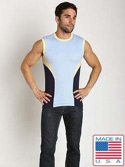 Pistol Pete Gambler Sleeveless Sky/Navy