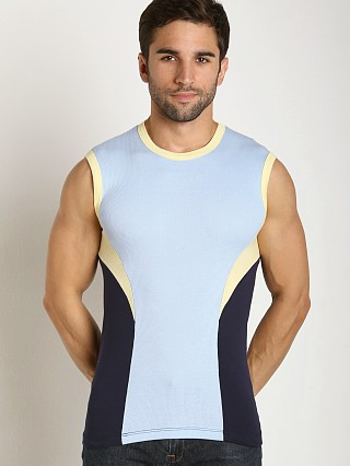 Complete the look: Pistol Pete Gambler Sleeveless Sky/Navy