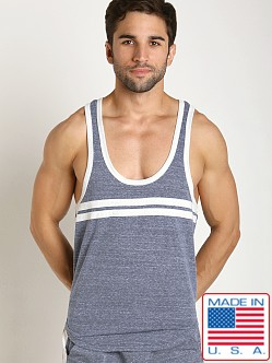 Pistol Pete Catalina Y-Back Tank Denim