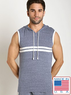 Pistol Pete Catalina Sleeveless Hoody Denim