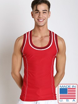 Pistol Pete Rugby Tank Red