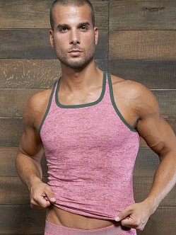 C-IN2 Hand Me Down Ringer Tank Top Pink