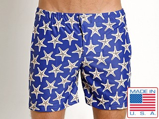 LASC Laguna Swim Shorts Navy Starfish