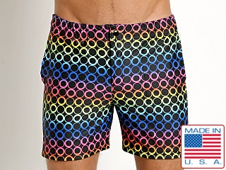 LASC Laguna Swim Shorts Multi Dots