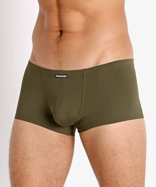 Manstore Soft and Stretchy Trunk Olive