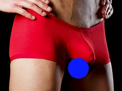 Good Devil Ballz-Out Boxer Red