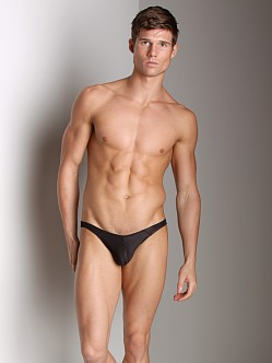 Good Devil Horizontal Lines Jockstrap Black