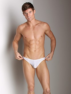 Good Devil Horizontal Lines Brief White