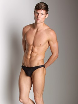 Good Devil Horizontal Lines Brief Black