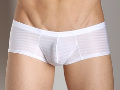 Good Devil Horizontal Lines Boxer White