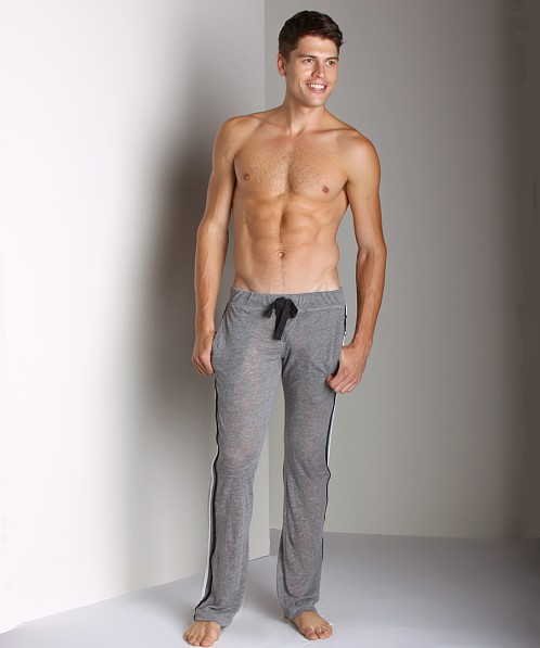 Andrew Christian Skinny Burnout Jogger Pant Vintage Heather