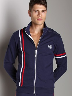 Andrew Christian Laurel Track Jacket Navy