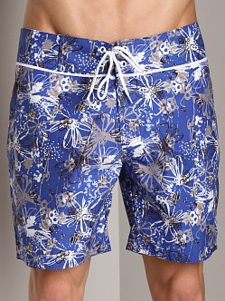 Sauvage Kiwi Surfshorts Royal Blue