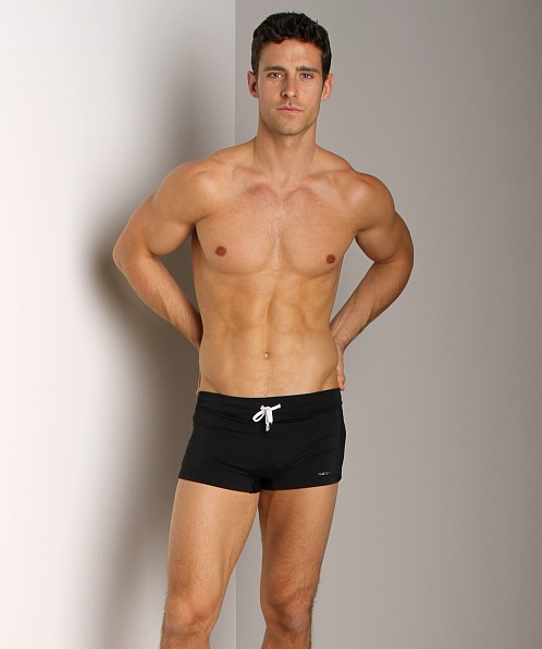 7015b1820bbfd 2xist Cabo Knit Swim Trunk Black 36070005-00101 at International Jock