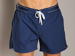 2xist Hampton Woven Swim Boxer Estate Blue