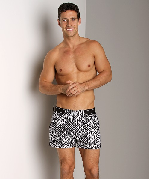 2xist (X)Print Ibiza Woven Swim Shorts Black
