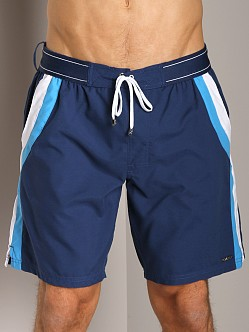 2xist Sport Maui Woven Board Shorts Estate Blue
