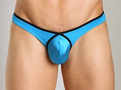 Good Devil Contour Thong Turquoise