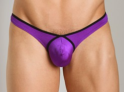 Good Devil Contour Thong Purple