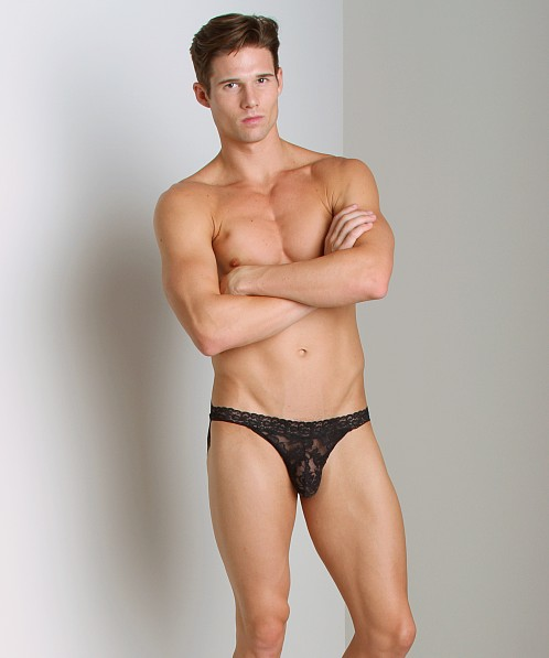 Good Devil Lace Jockstrap Black