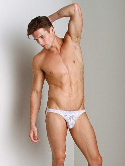 Good Devil Lace Jockstrap White