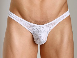 Good Devil Lace Thong White