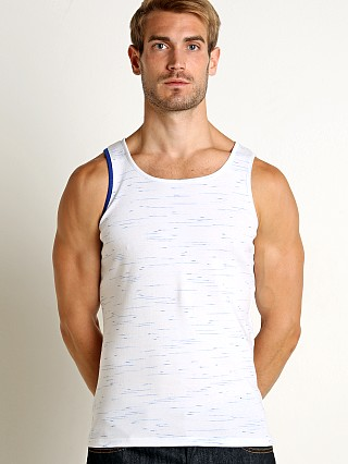 Modus Vivendi Measure Tank Top Blue/Grey