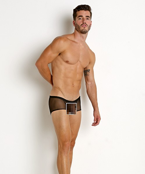 McKillop Happy Balls Mesh Low Rise Boxer Black