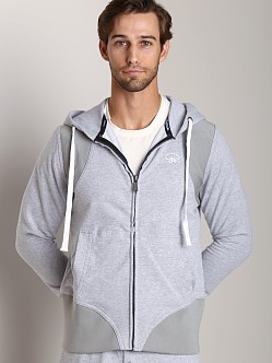James Tudor Eaton Hoody Heather Grey
