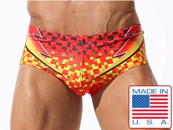 Rufskin Fuego Swim Brief Sublimation Print