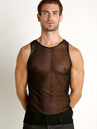 You may also like: Go Softwear Hard Core Grid Mesh Tank Top Black